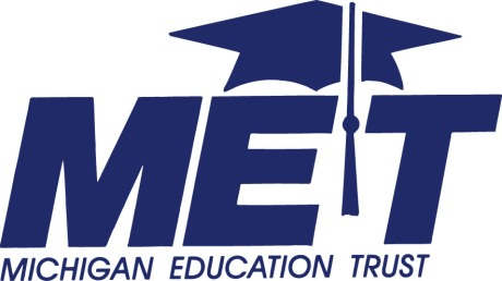 MET logo in blue